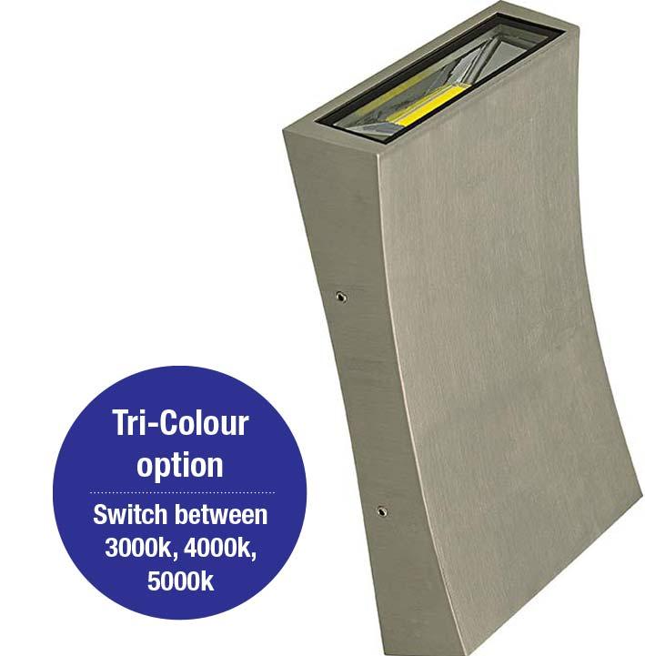 Dent II Aluminium Tri-Colour